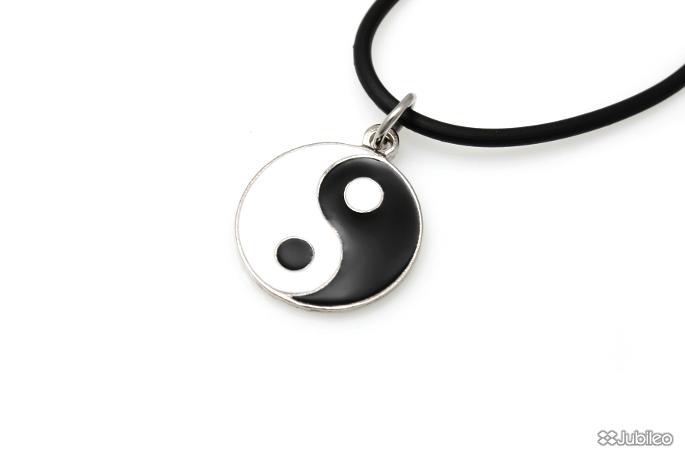 1aa47636b1 Naszyjnik Ying Yang Chiński Talizman i Symbol  Sklep z Biżuterią ...